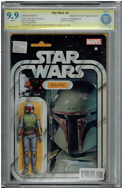 Star Wars # 4 Boba Fett CBCS 9.9 Signature Series