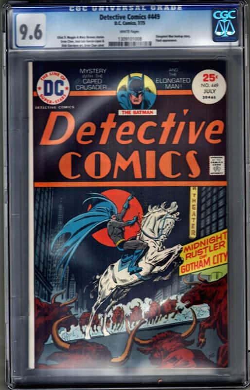 Detective Comics #449 CGC 9.6 WP
