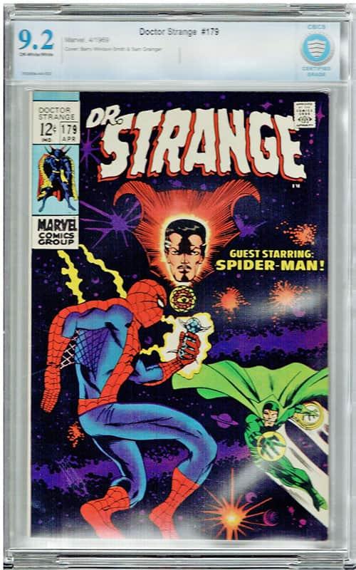 Doctor Strange #179 CBCS 9.2 OW/WP