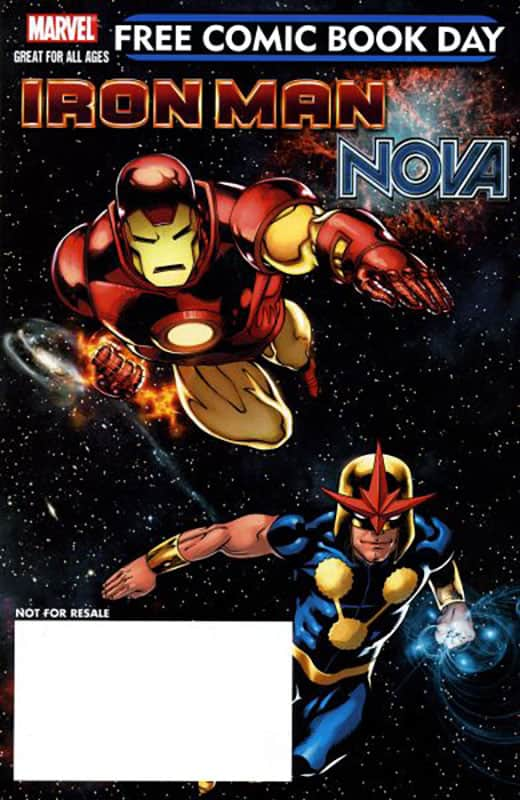 Iron Man: Super Nova # 1 FCBD