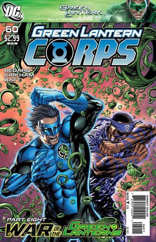 Green Lantern Corps #60A
