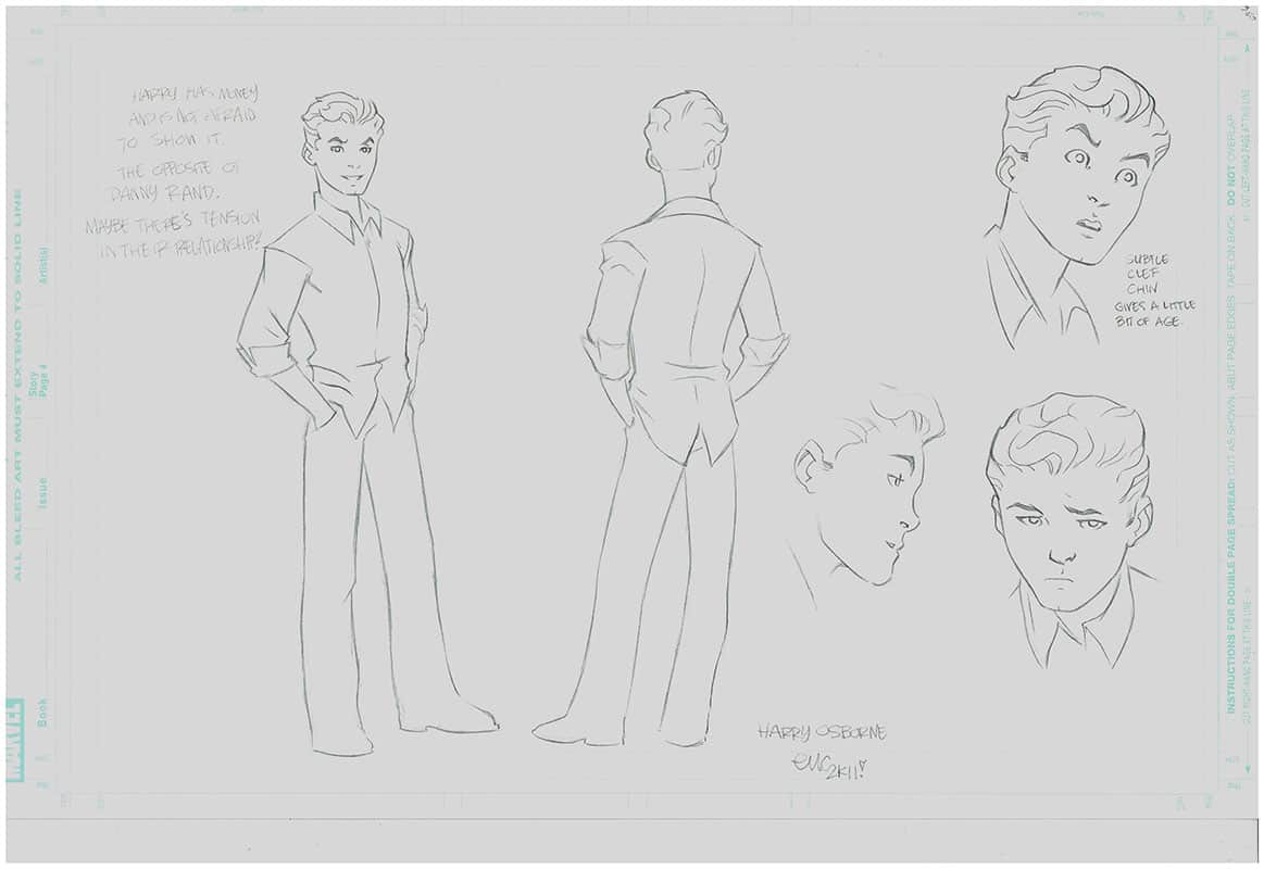 Ultimate Spiderman  Animated - Harry Osborn