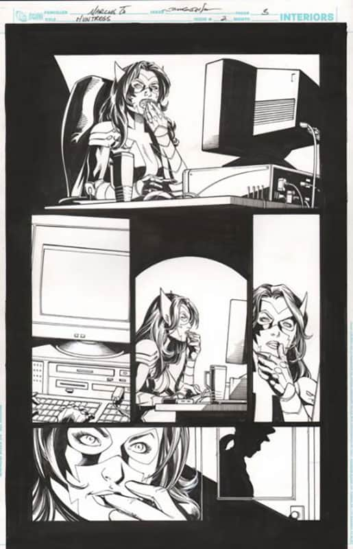Huntress #2 pg 3