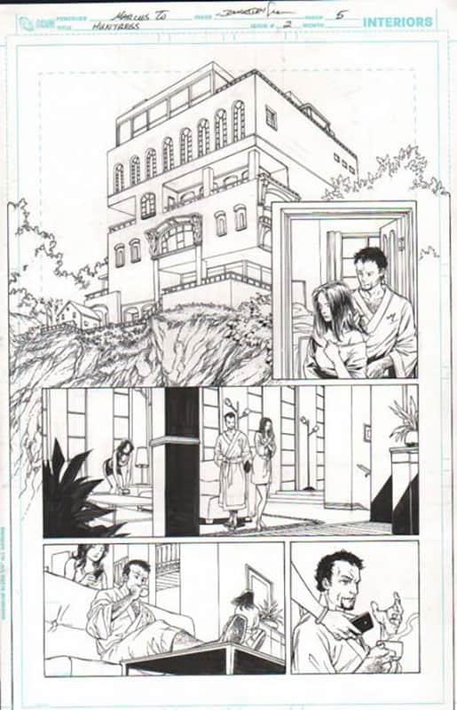 Huntress #2 pg 5