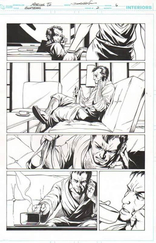 Huntress #2 pg 6