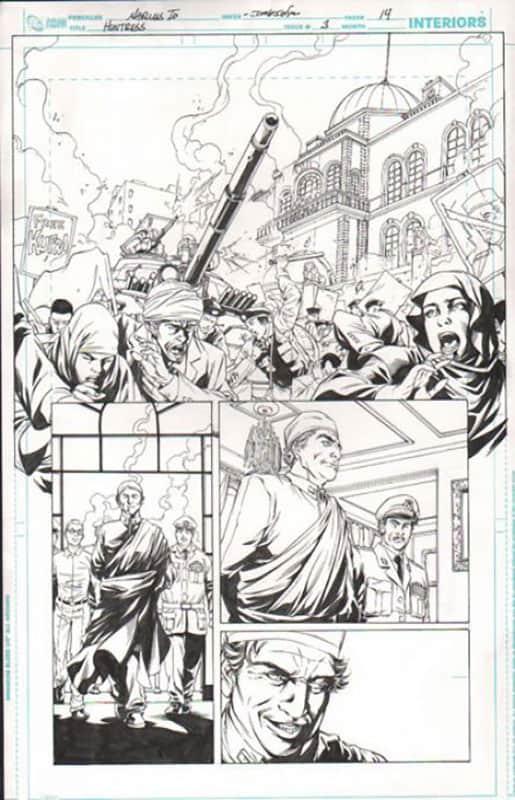 Huntress #3 pg 14