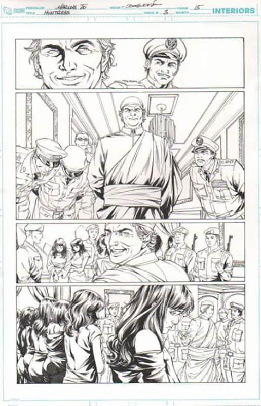 Huntress #3 pg 15