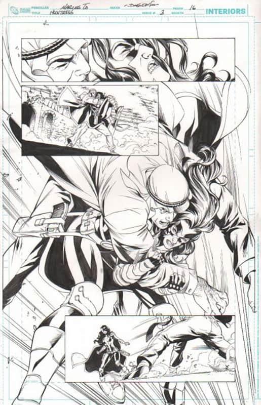 Huntress #3 pg 16