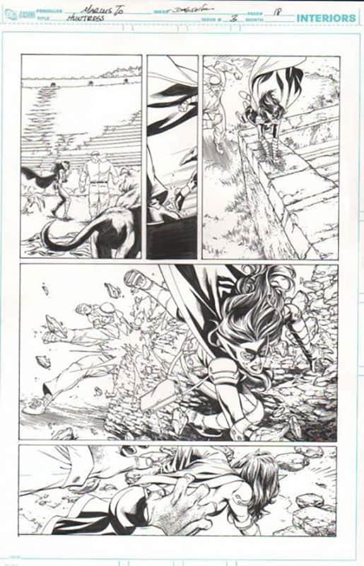 Huntress #3 pg 18