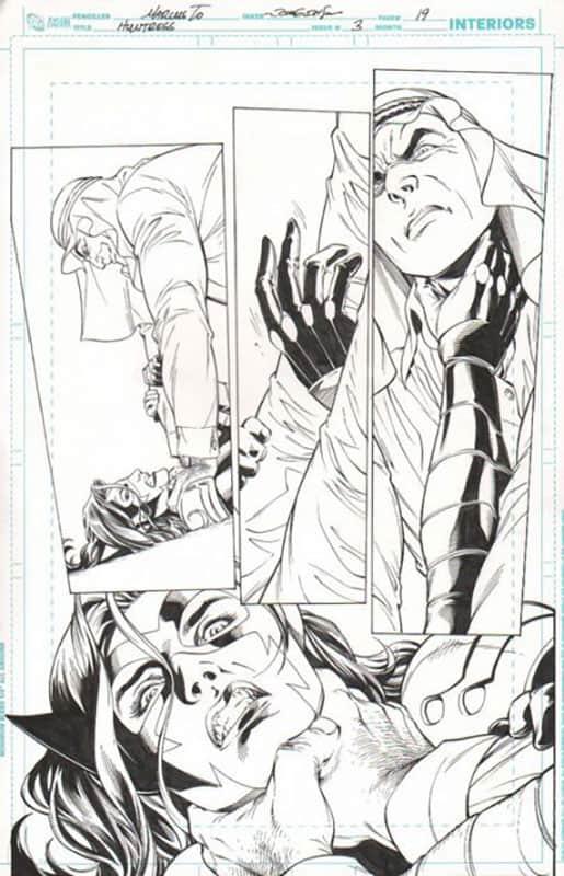 Huntress #3 pg 19