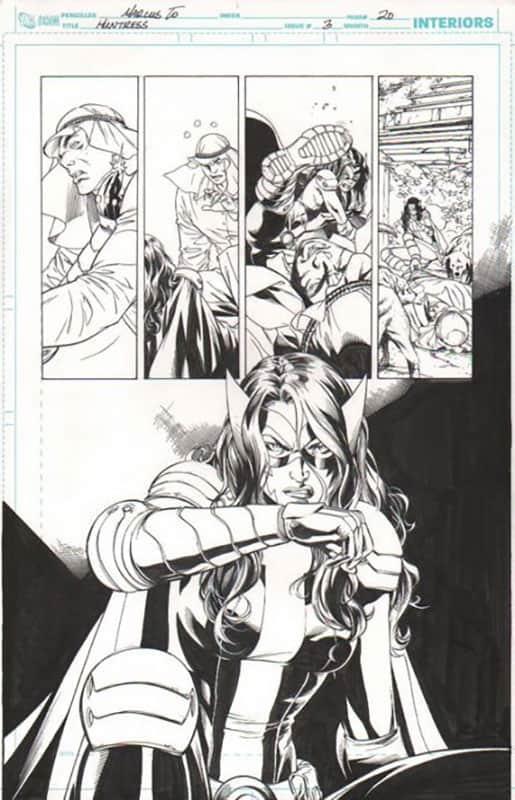 Huntress #3 pg 20