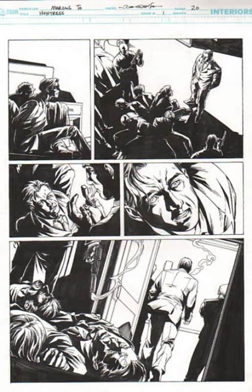 Huntress #1 pg 20