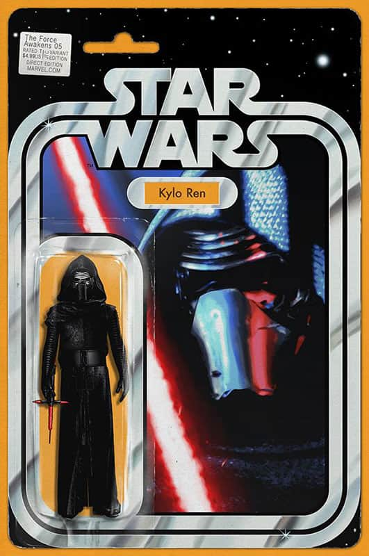 The Force Awakens # 5 Kylo Ren Action Figure Variant