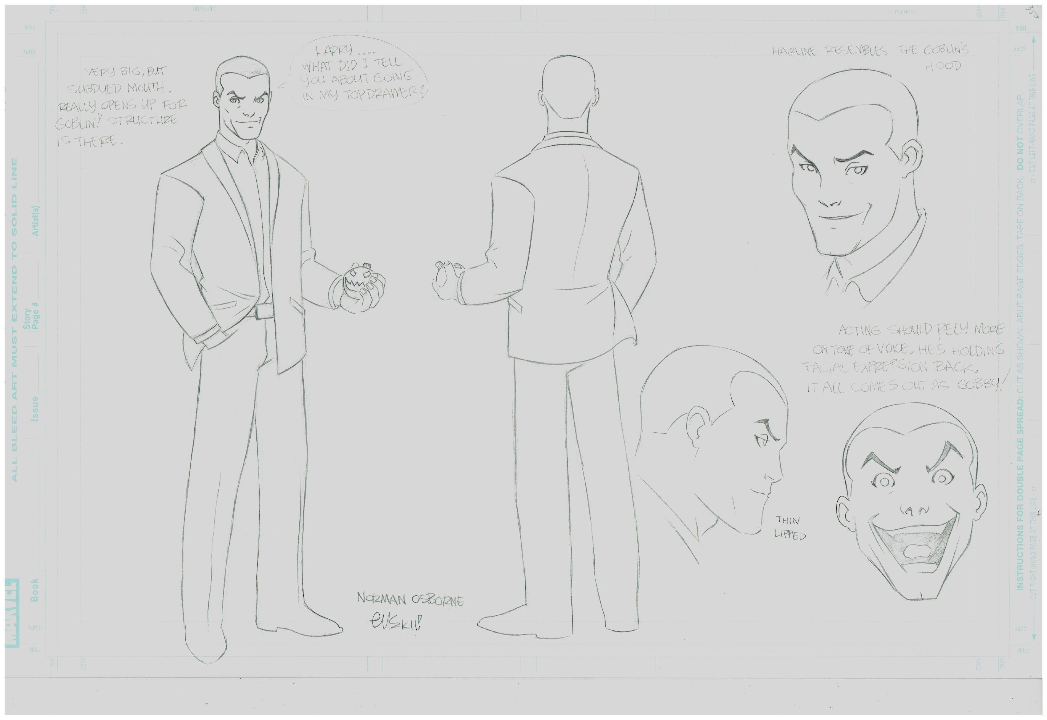Ultimate Spiderman  Animated - Norman Osborn
