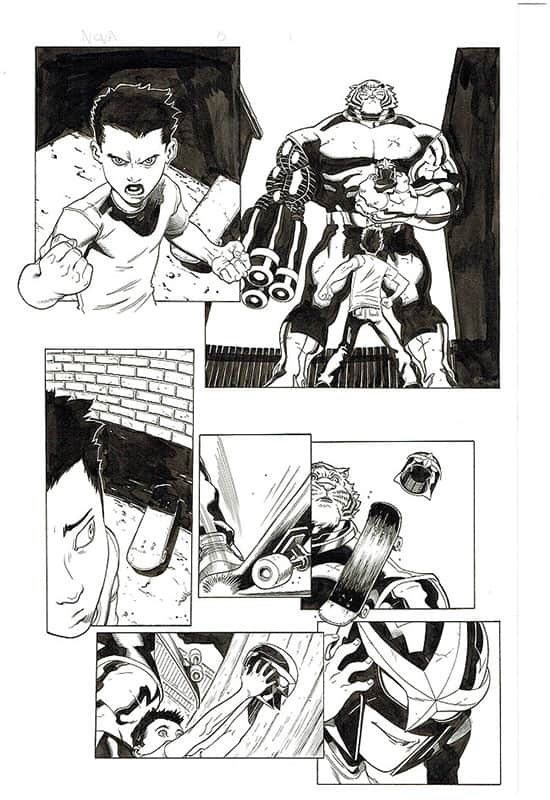 Nova # 5 pg 1