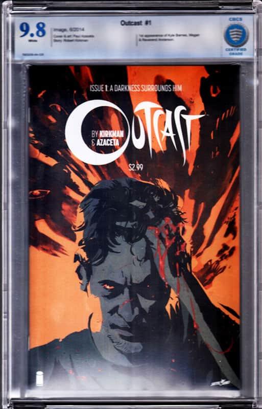 OutCast # 1 CBCS 9.8 WP 1st Kyle Barnes