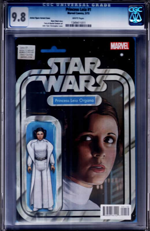 Princess Leia # 1 Action Figure CGC 9.8 WP