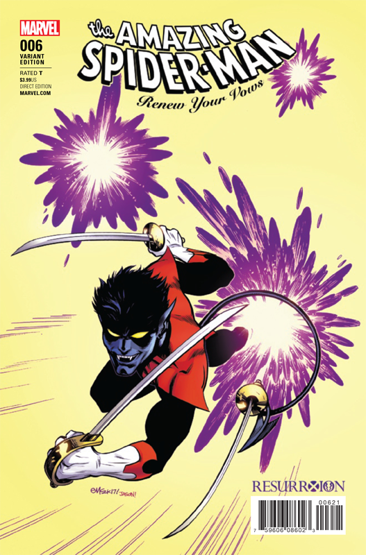 Amazing Spider-Man # 6 Renew Your Vows