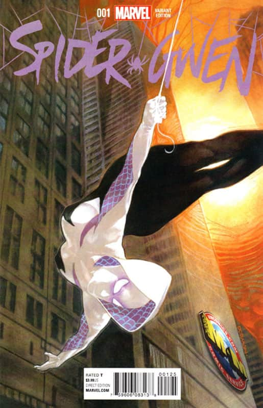 Spider Gwen # 1 M&M variant