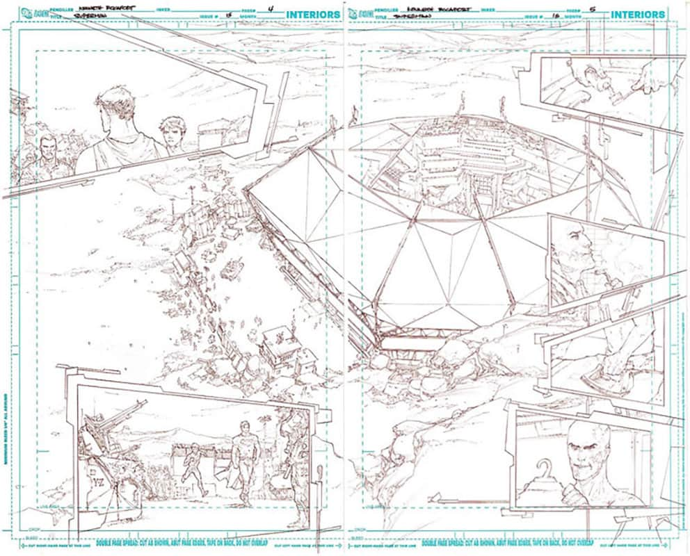 Superman #15 pg 4&5
