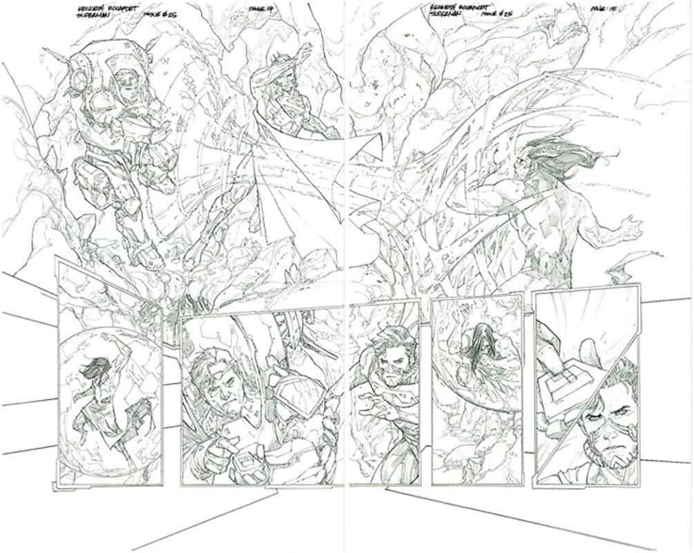 Superman #25 pg14&15