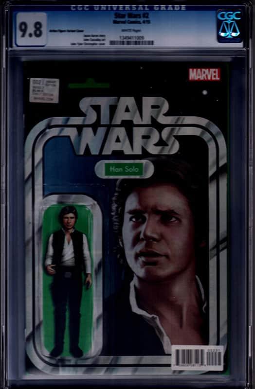 Star Wars # 2 Han Solo CGC 9.8