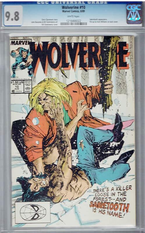 Wolverine #10 CGC 9.8 WP
