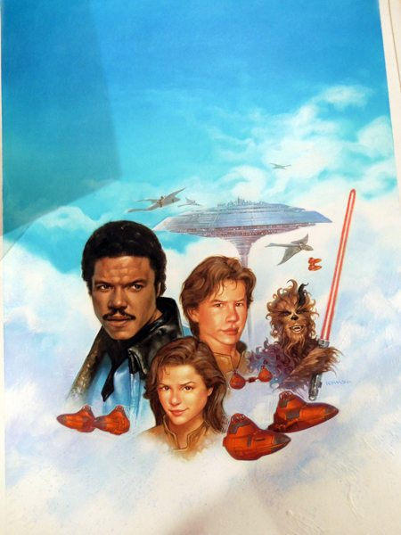 Star Wars Young Jedi Knights Trouble on Cloud City