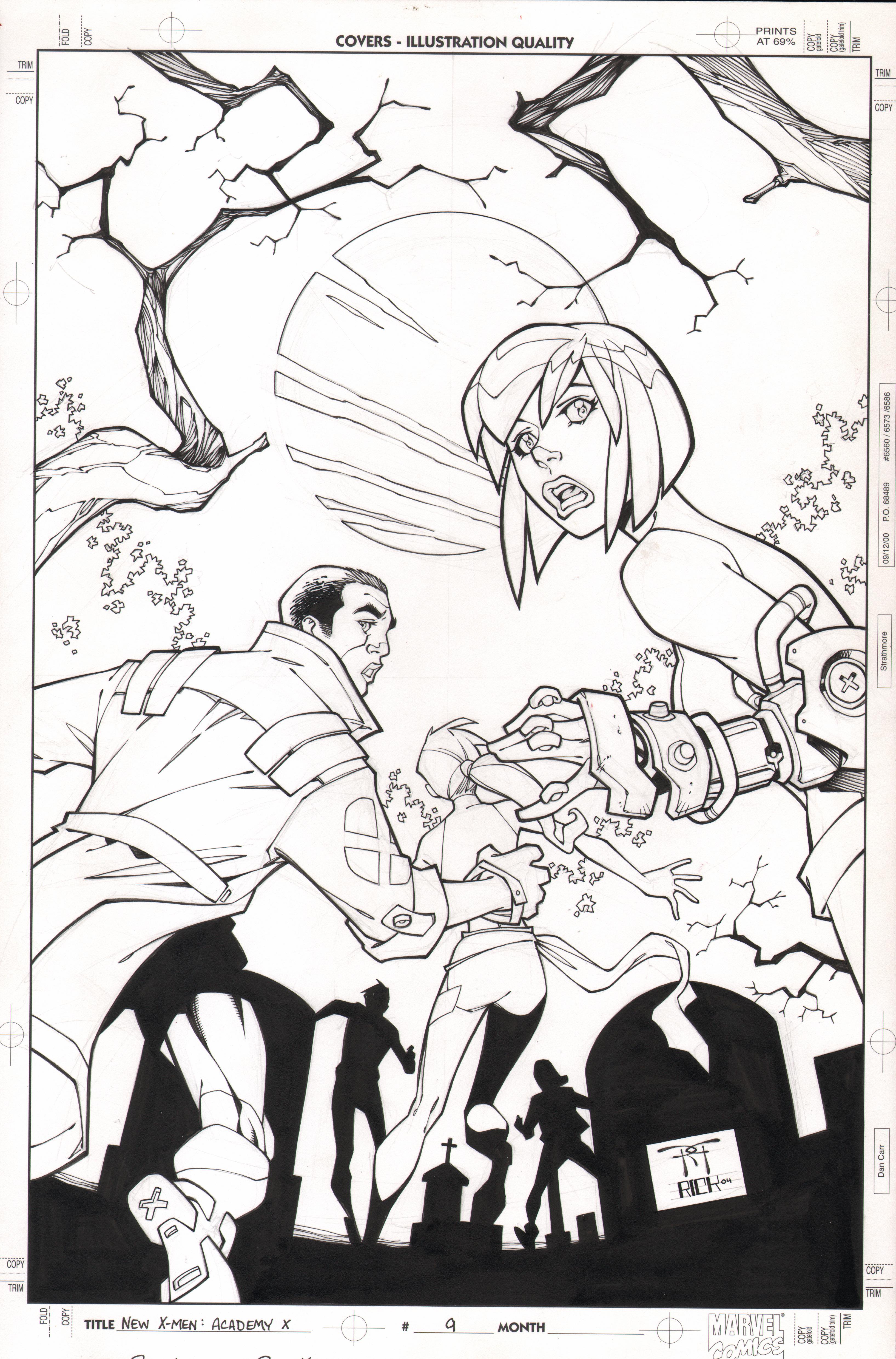 New X-Men # 9