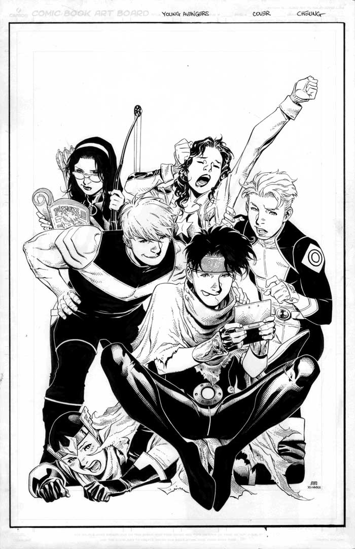 Young Avengers #5b