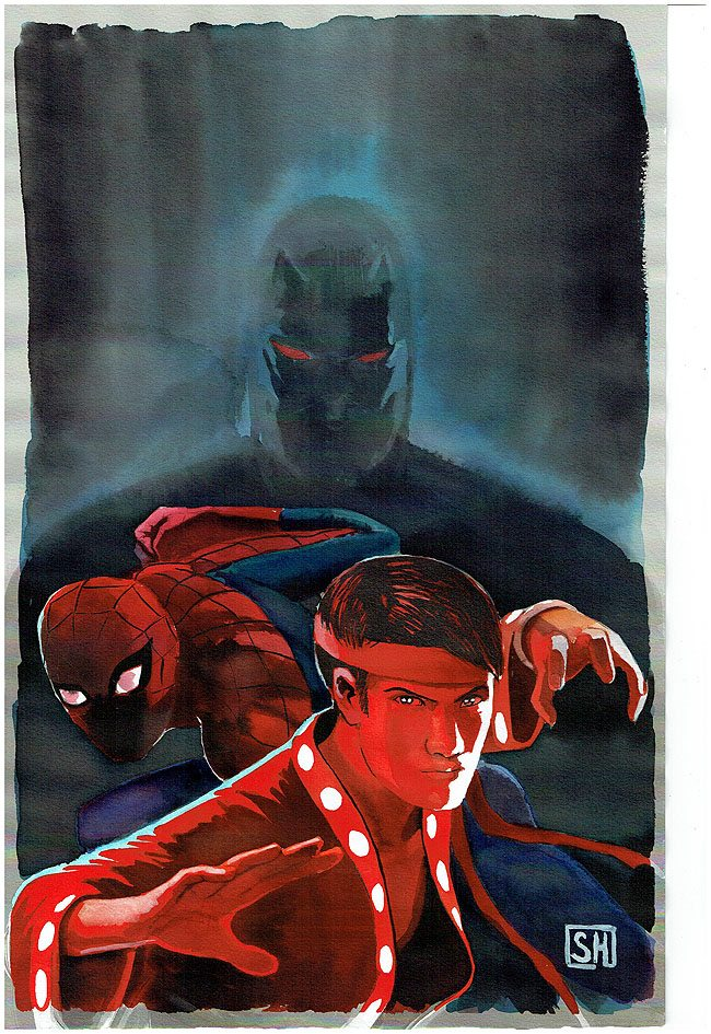 Shadowland: Spiderman #1