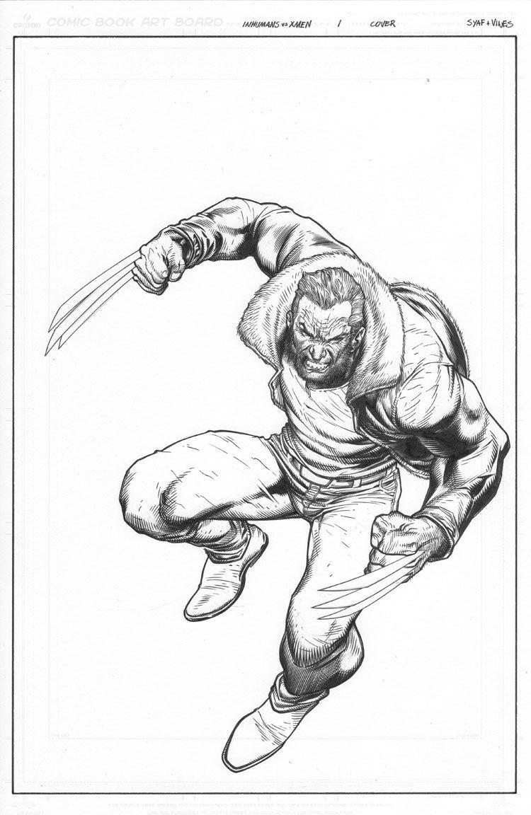 Inhumans vs. X-Men # 1