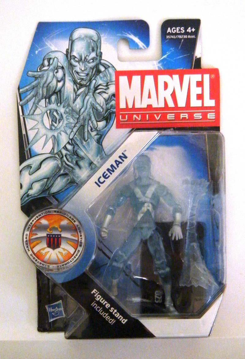 Ice Man- Marvel Universe Toy Series Art