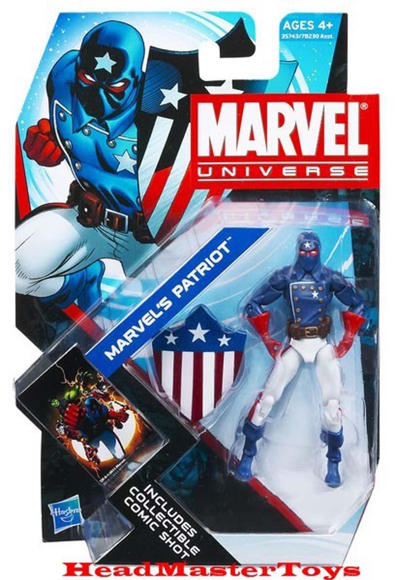 Marvel's Patriot- Marvel Universe Toy Series Art