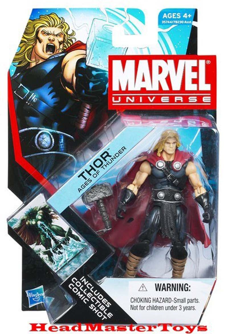 Thor Ages of Thunder- Marvel Universe Toy Series Art