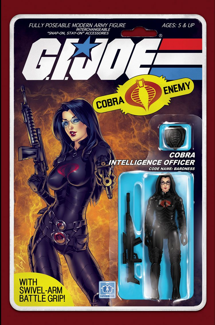 GI JOE: Real American Action Figure Set