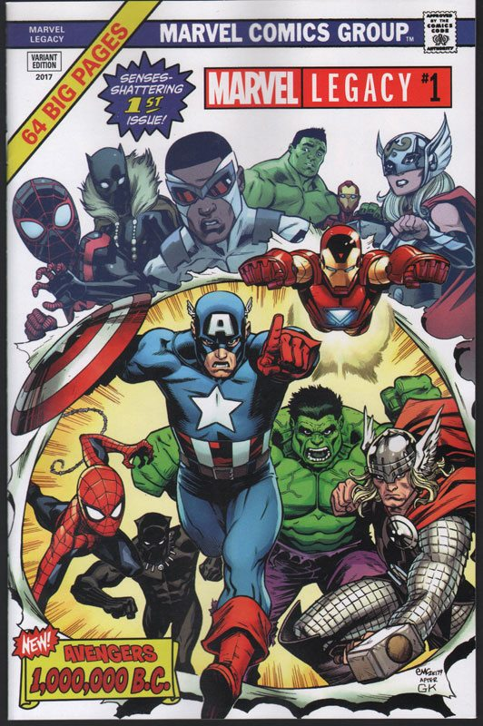Marvel Legacy # 1 Fan Expo Variant