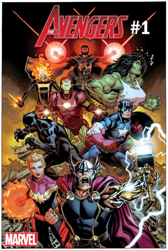 Avengers # 1 Signature Series