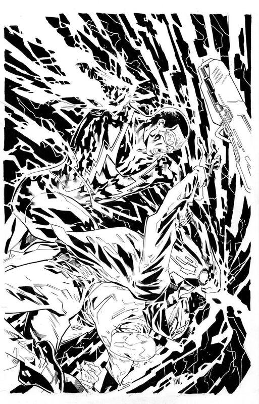 Black Lightning Cold Dead Hands # 1