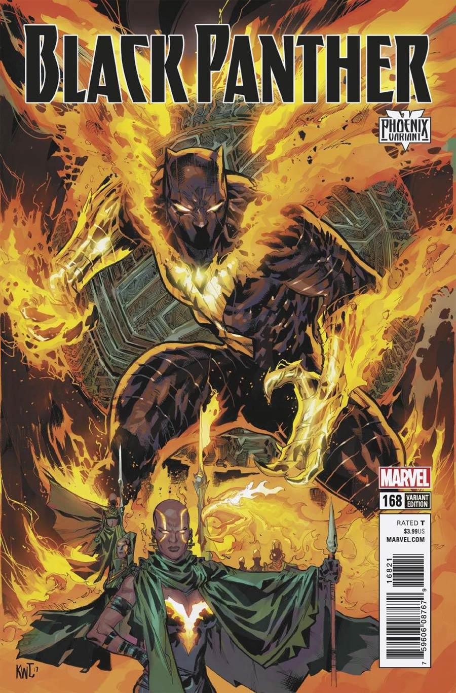Black Panther #168 Phoenix Variant