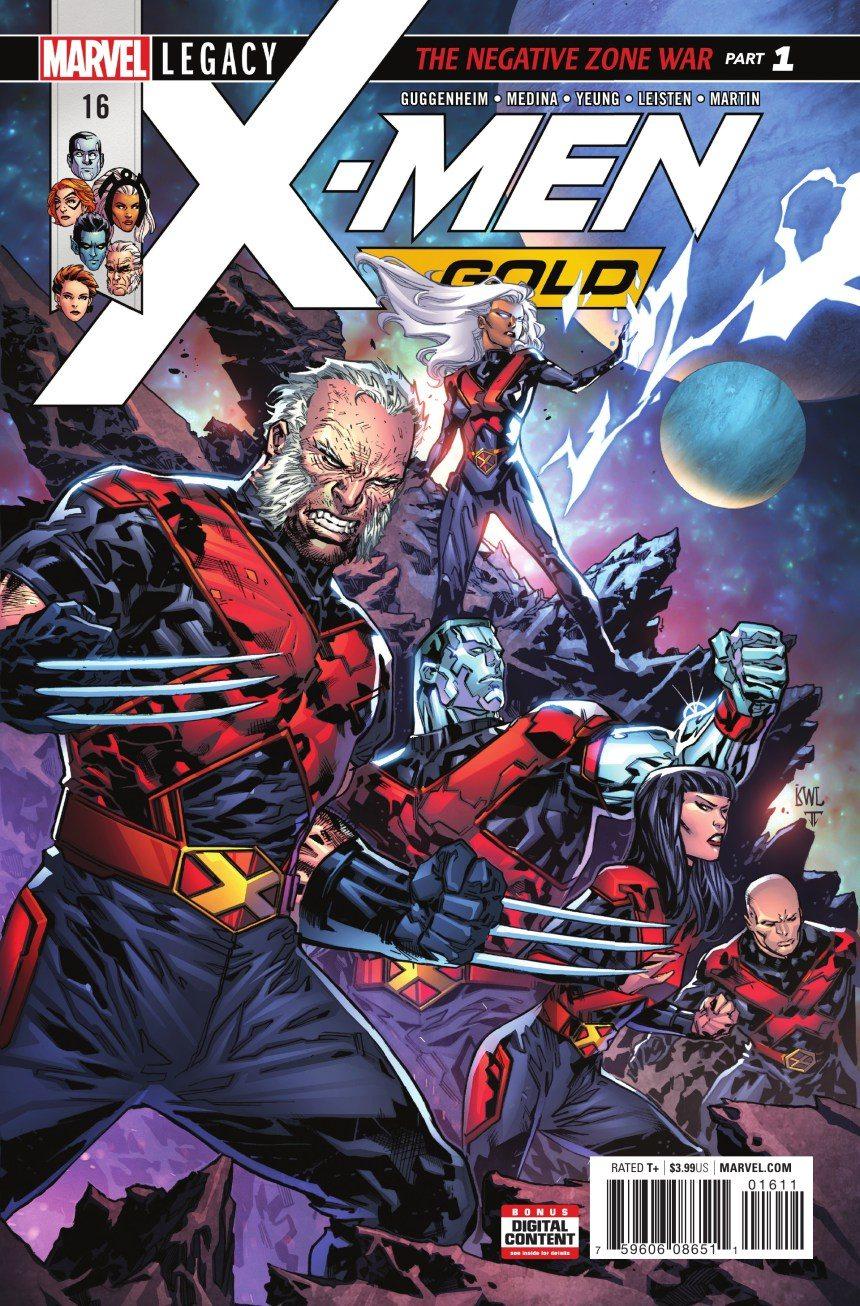 X-Men Gold #16 1st Old Man Logan X-Suit