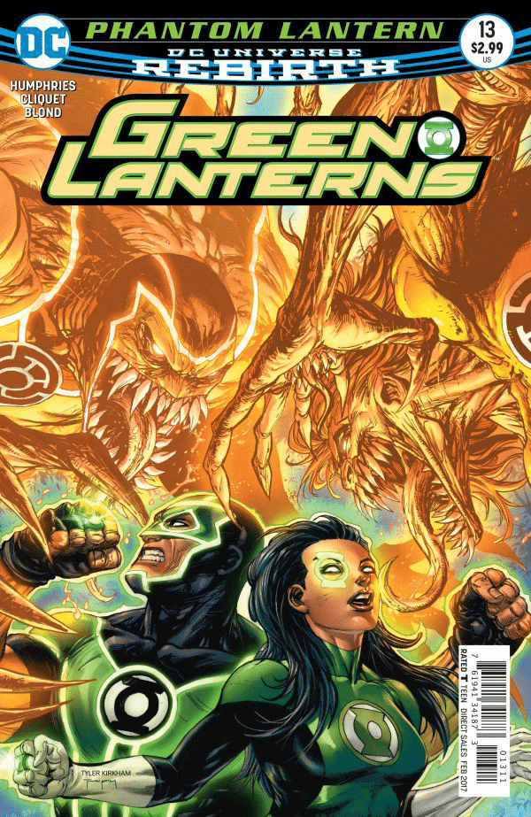 Green Lanterns #13 Rebirth