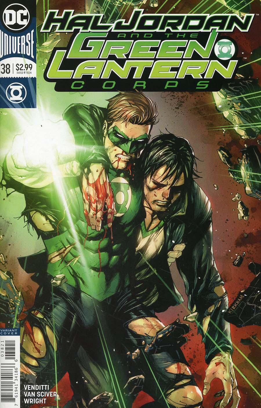 Hal Jordan & the Green Lantern Corps #38