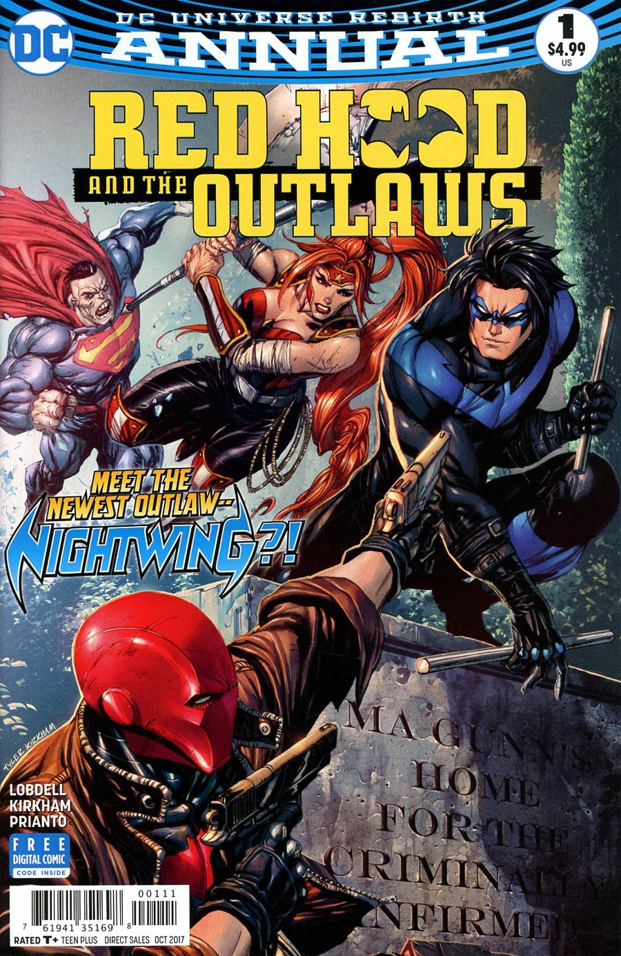 Red Hood & the Outlaws Annual # 1