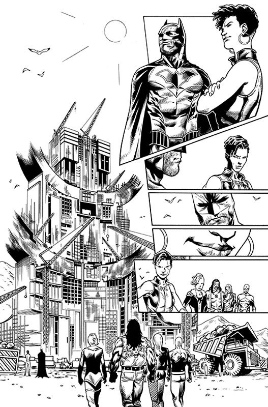 JLA #25 pg 1