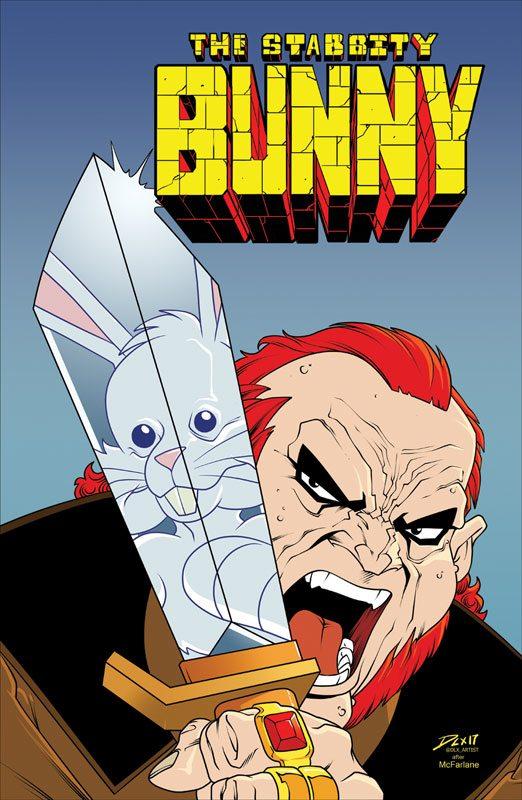 Stabbity Bunny #3 McFarlane Homage