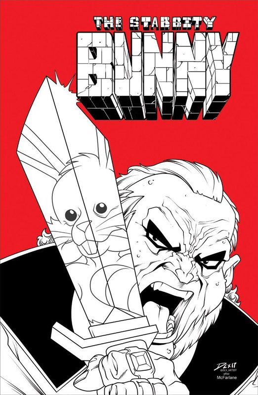 Stabbity Bunny #3 McFarlane Homage Cover B LTD 100
