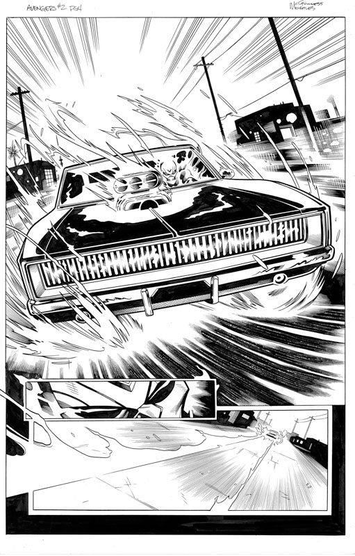 Avengers # 2 pg 4