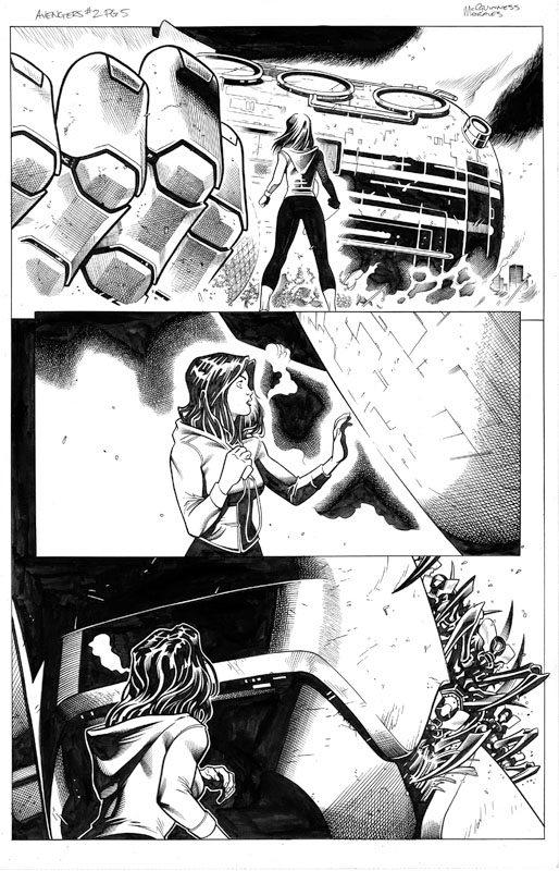 Avengers # 2 pg 5