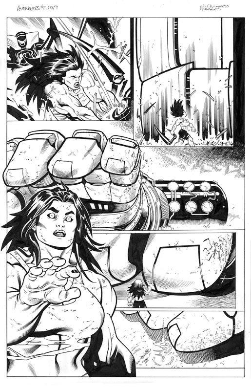 Avengers # 2 pg 9